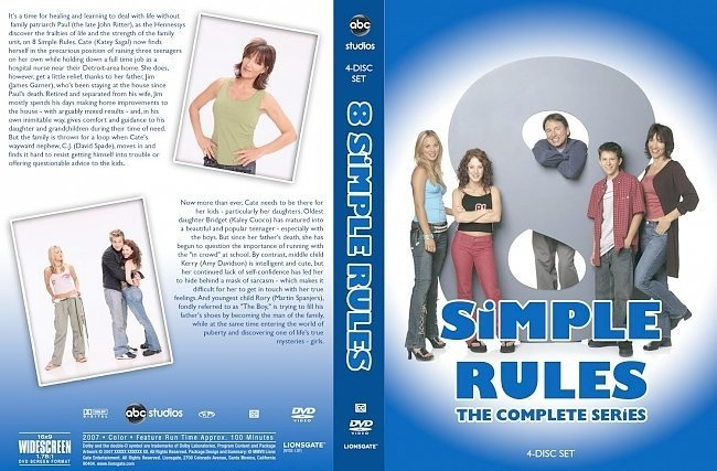 dvd cover 8 Simple Rules The Complete Series
