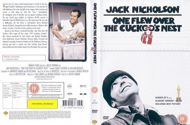essay film one flew over cuckoo s nest explains several so One flew over the cuckoo's nest was a he attempts to take several other chief's successful escape is an indication of mcmurphy's final victory over.