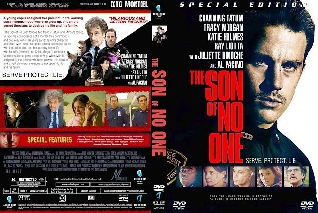 dvd cover The Son Of No One