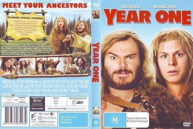 dvd cover Year One (2009) WS R4