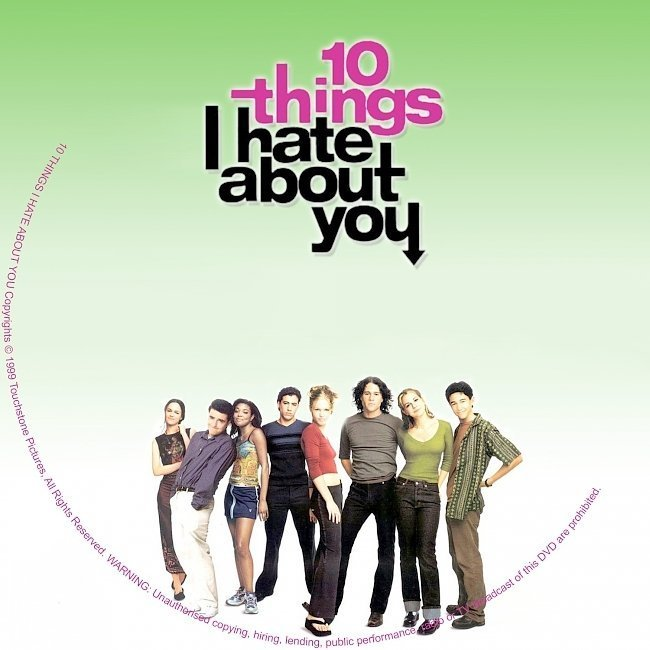dvd cover 10 Things I Hate About You (1999) WS R2
