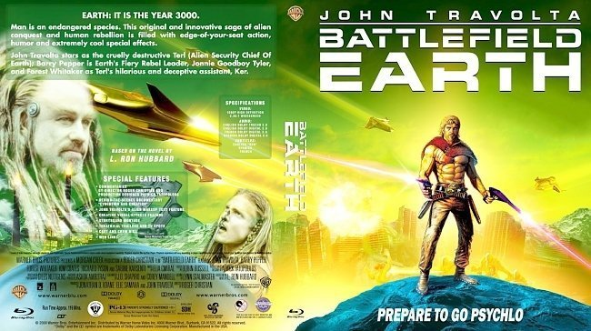 dvd cover Battlefield Earth