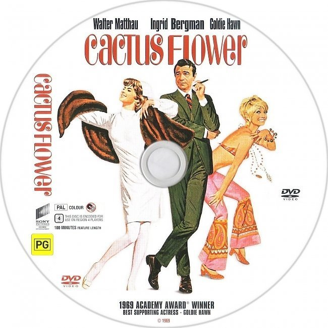 dvd cover Cactus Flower (1969) WS R4