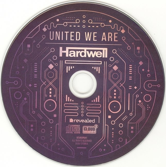 dvd cover Hardwell - United We Are
