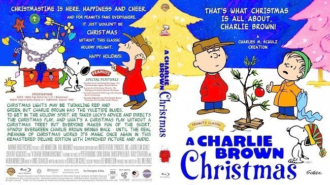 dvd cover A Charlie Brown Christmas