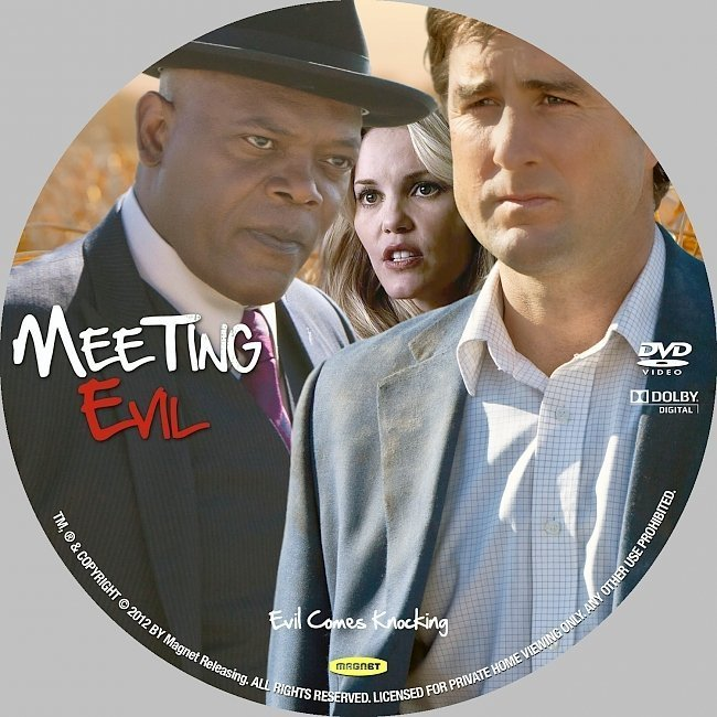 dvd cover Meeting Evil