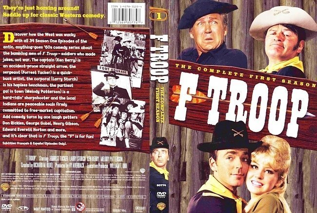 dvd cover F Troop Season 1