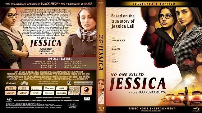 dvd cover No One Killed Jessica