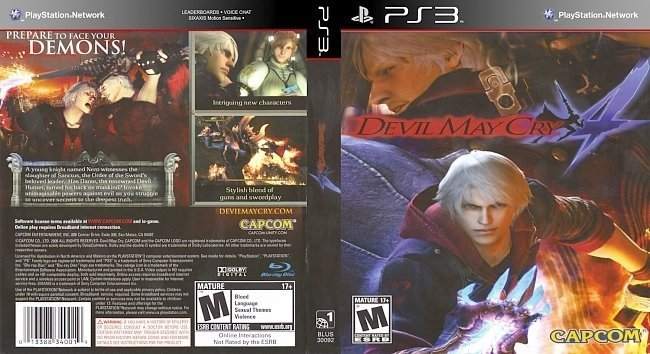 dvd cover Devil May Cry 41