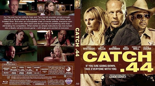 dvd cover Catch .44