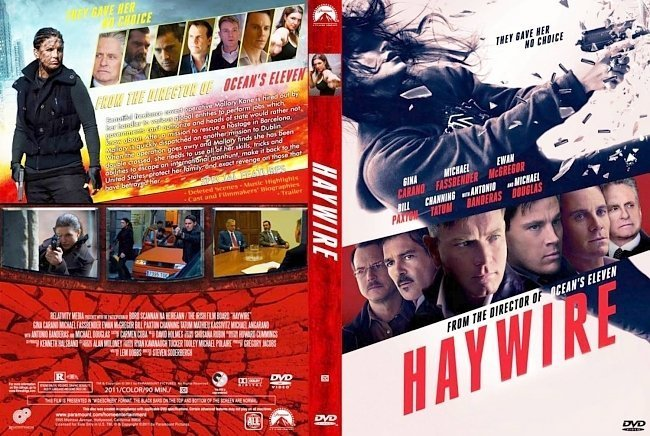 dvd cover Haywire