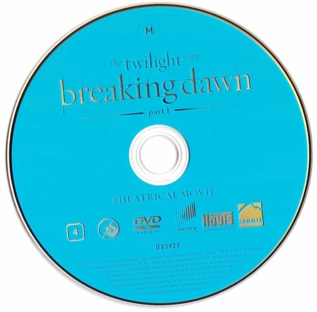 dvd cover The Twilight Saga: Breaking Dawn - Part 1 (2011) WS R4