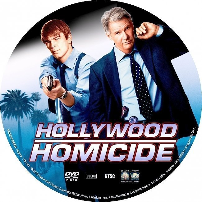 dvd cover Hollywood Homicide (2003) R1