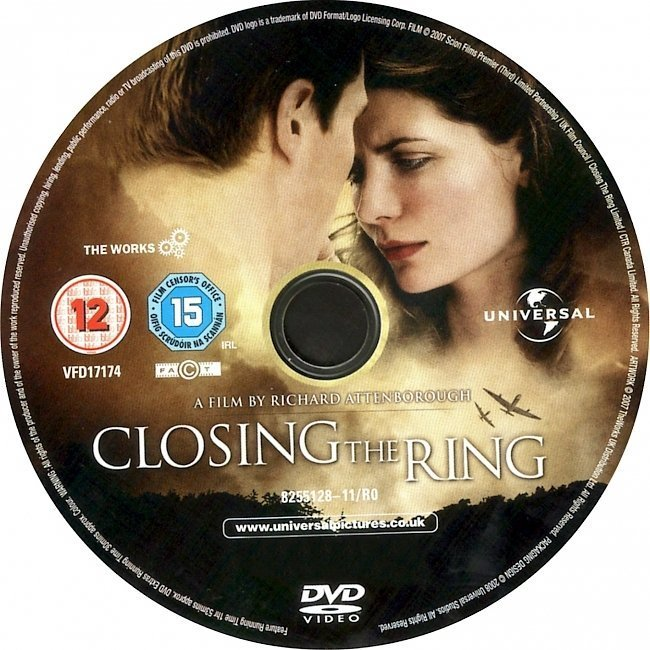 dvd cover Closing The Ring (2007) WS R2 & R4