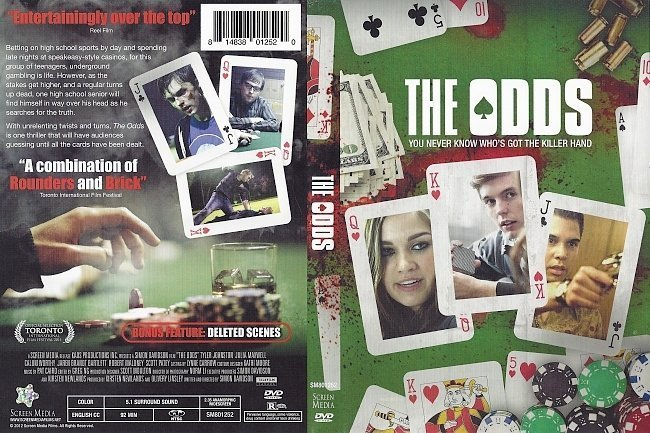 dvd cover The Odds (2011)