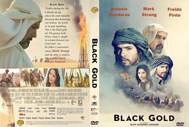 dvd cover Black Gold