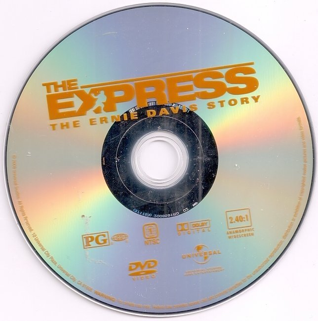 dvd cover The Express (2008) WS R1