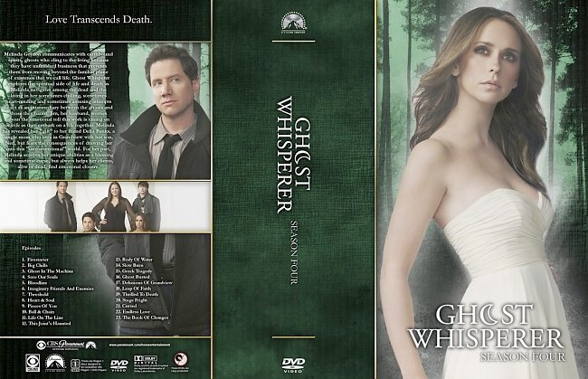 dvd cover Ghost Whisperer Season 4