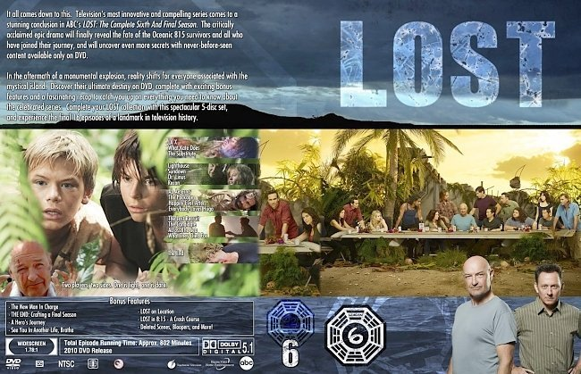 dvd cover Lost Supper Collection Season 6