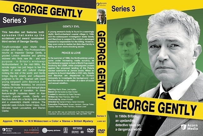 dvd cover George Gently Season 3