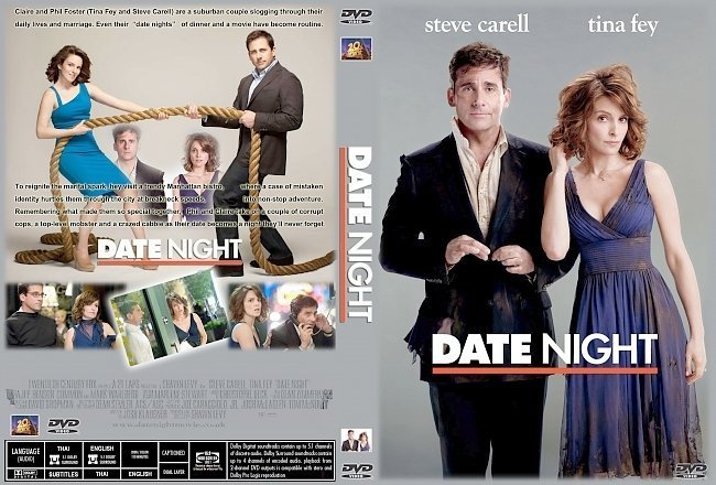 dvd cover Date Night (2010) R0