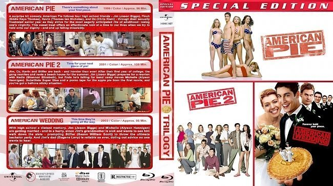 dvd cover American Pie / American Pie 2 / American Wedding