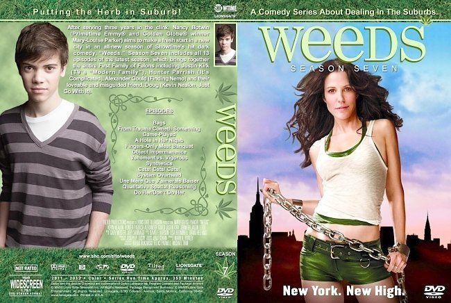 dvd cover Weeds Season 7