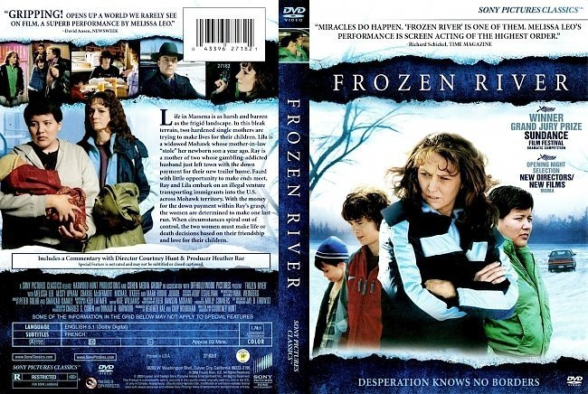 dvd cover Frozen River (2008) R1