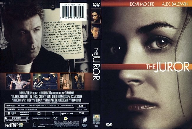 dvd cover The Juror (1996) R1