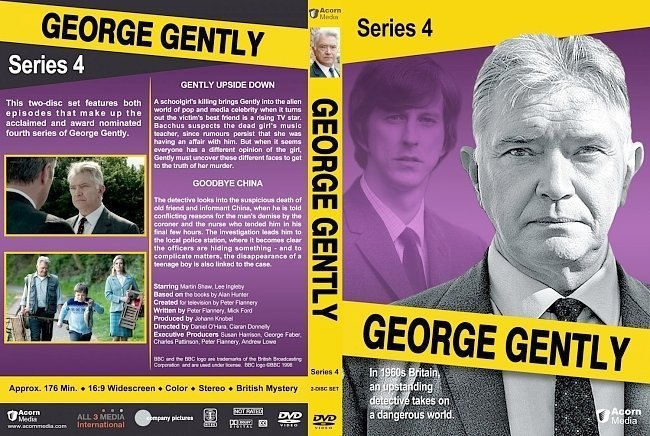 dvd cover George Gently Series 4