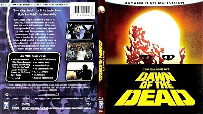dvd cover Dawn Of The Dead Bluray f