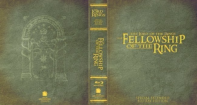 dvd cover The Lord of the Rings The Fellowship Of The Ring Special Extended Editions Bluray