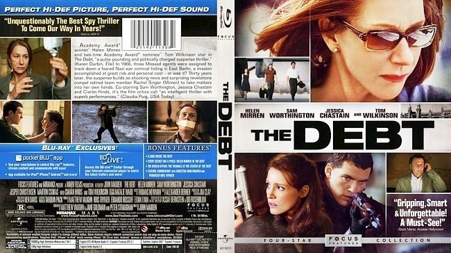 dvd cover The Debt
