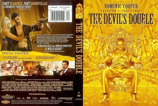 dvd cover The Devil's Double (2011) WS R1