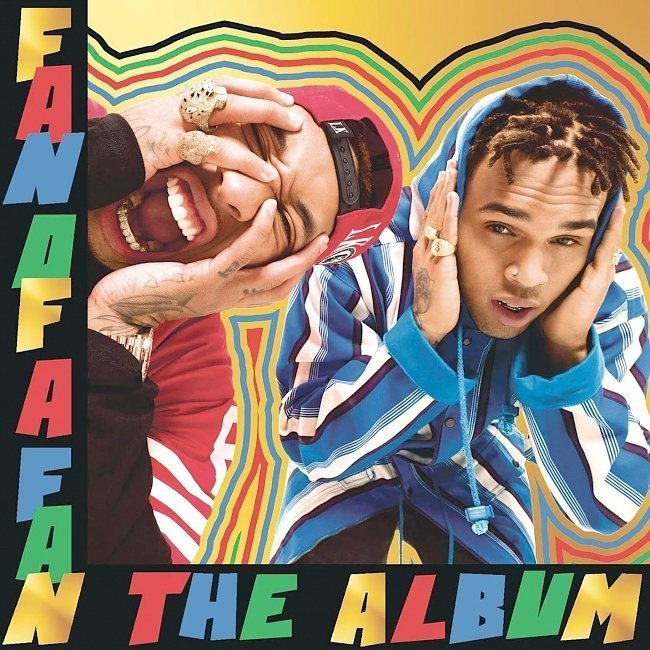 dvd cover Chris Brown X Tyga - Fan Of A Fan - The Album