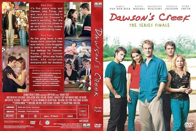 dvd cover Dawson's Creek Series Finale