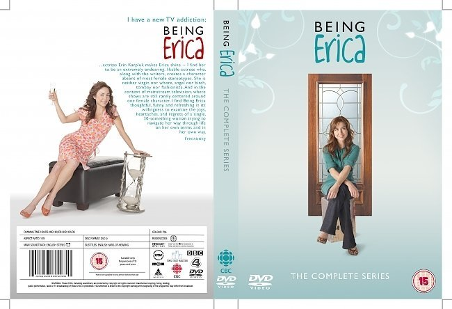 dvd cover being erica tv series front cover