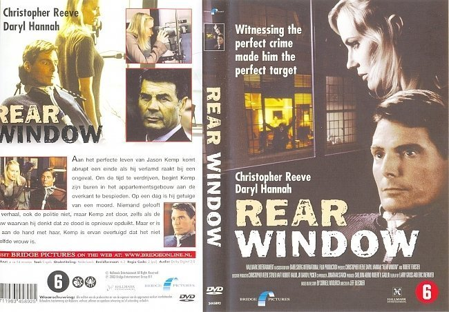 dvd cover Rear Window - Front Covers