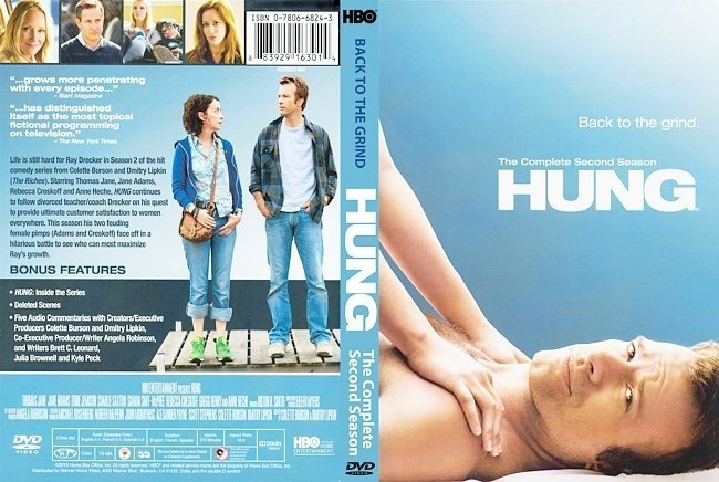 dvd cover Hung Season 2