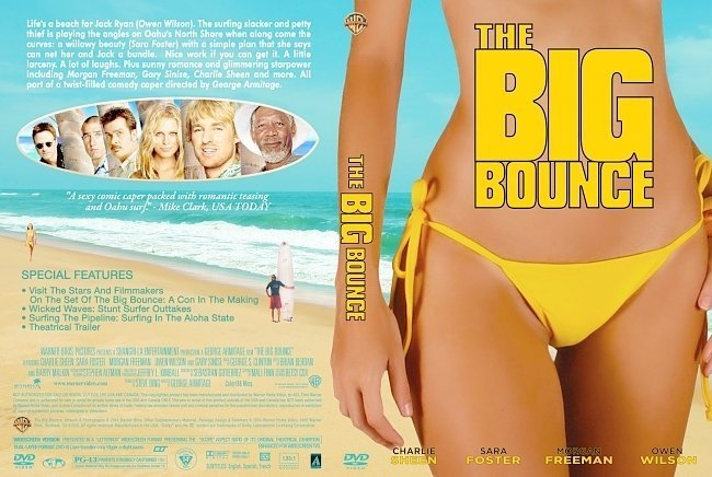 dvd cover The Big Bounce