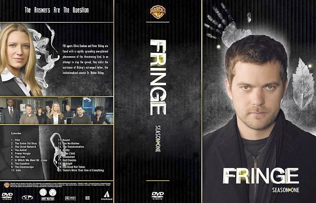 dvd cover Fringe Season 1