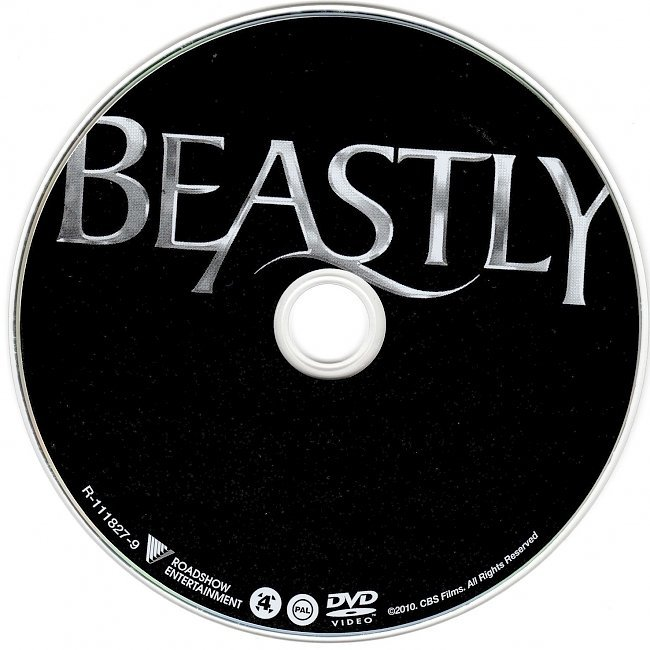 dvd cover Beastly (2011) WS R4