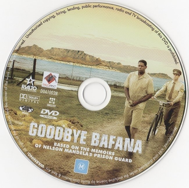 dvd cover Goodbye Bafana (2007) WS R4