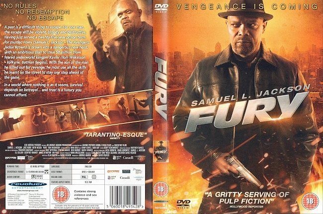 dvd cover Fury R2