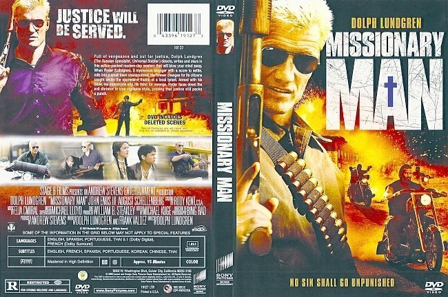 dvd cover Missionary Man (2007) WS R1