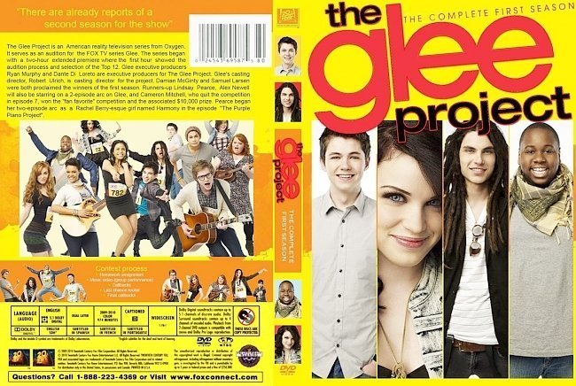 dvd cover Glee Project S1