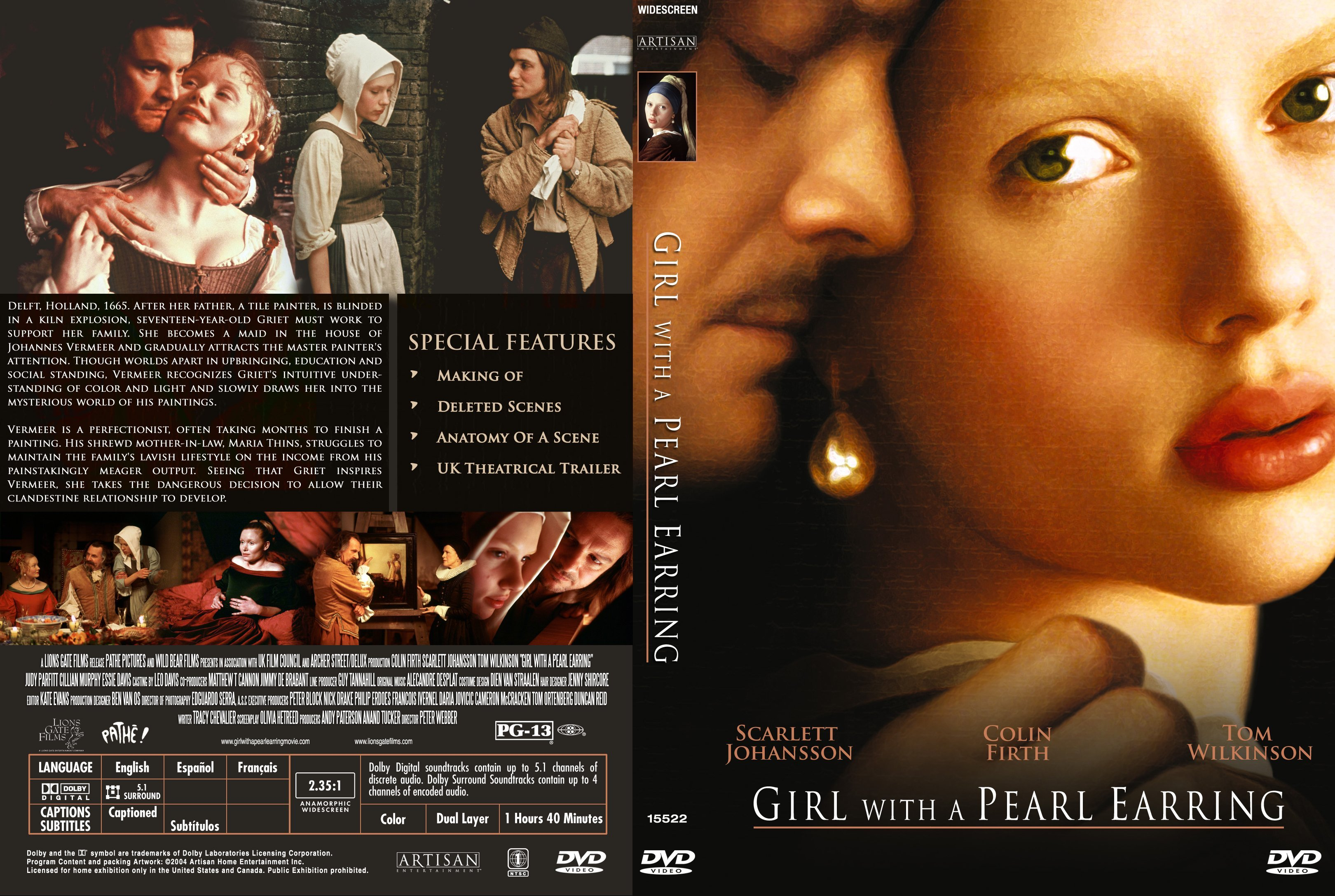 girl with a pearl earring what is the relationship between maria thins and griet