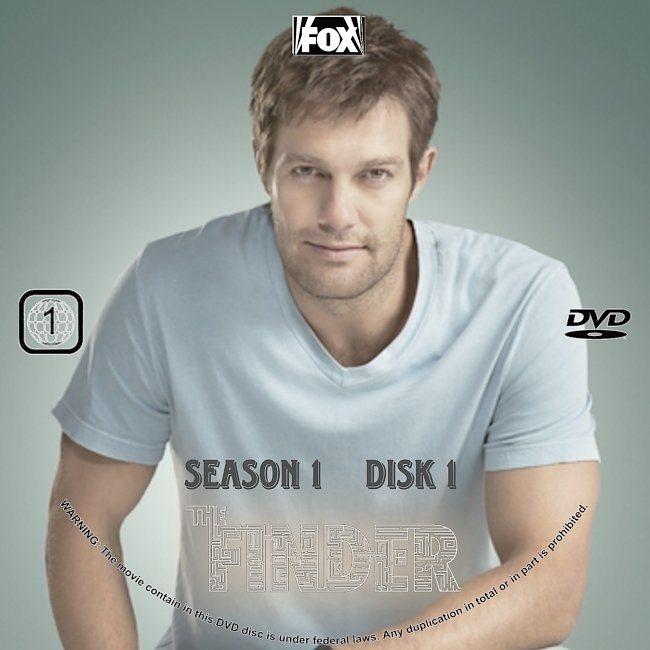 dvd cover The Finder: Season 1 (2011) R1 CUSTOM