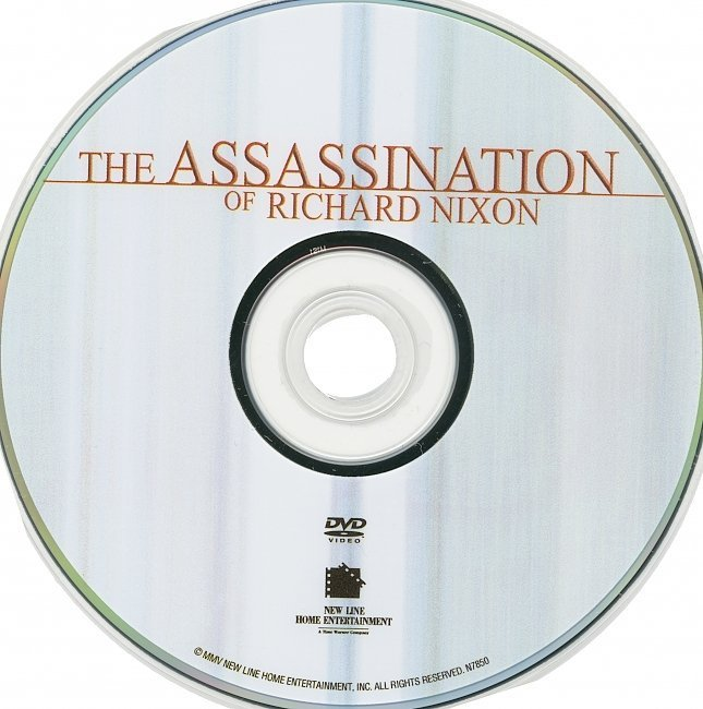 dvd cover The Assasination Of Richard Nixon (2004) R1