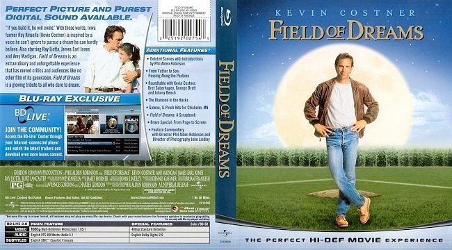 dvd cover Field Of Dreams